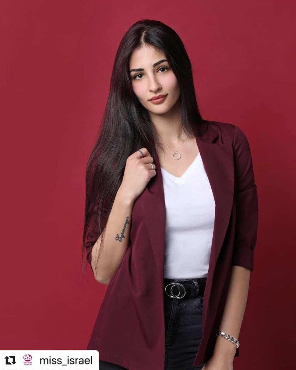 Ailer Babayev Finalist Miss Israel 2020