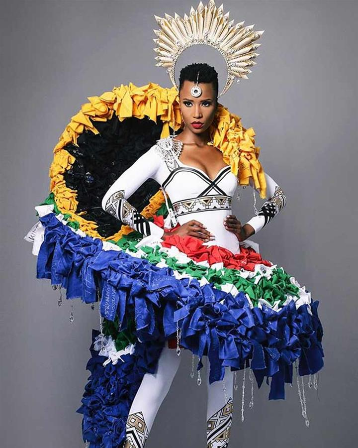 South Africa's Zozibini Tunzi reveals her National Costume for Miss Universe 2019