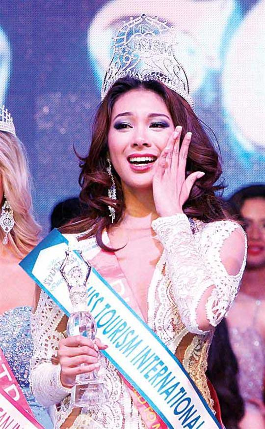 Filipina dominance in Miss Tourism International