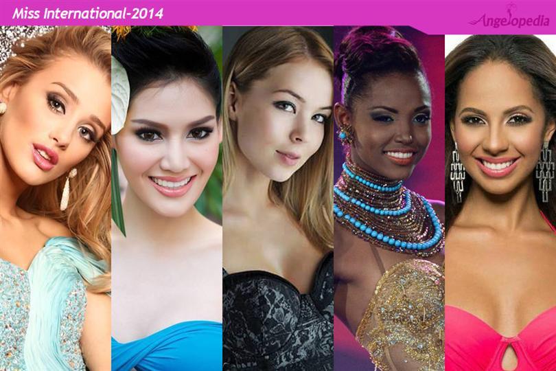 Miss International Top 5