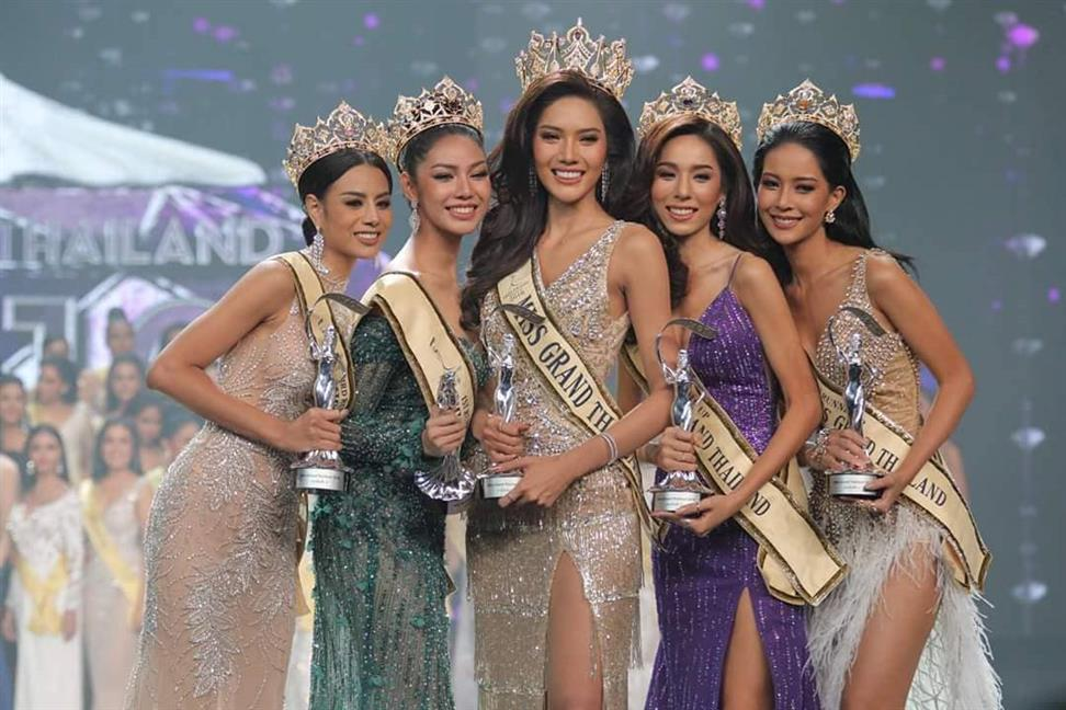 Namoey Chanaphan, Miss Grand Phuket 2018, wins Miss Grand Thailand 2018