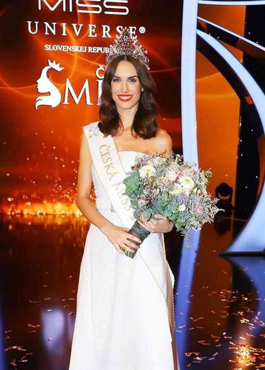 Barbora Hodacová crowned Miss Universe Czech Republic 2019