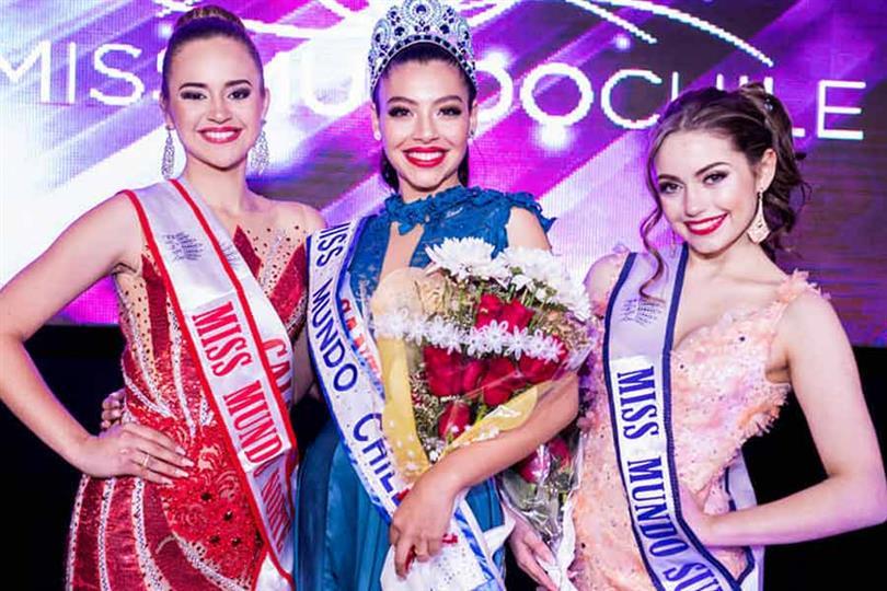 Ignacia Albornoz crowned Miss Mundo Chile 2019
