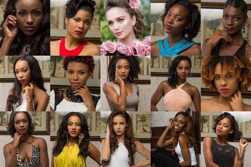 Miss Universe Barbados 2016 Meet the finalists