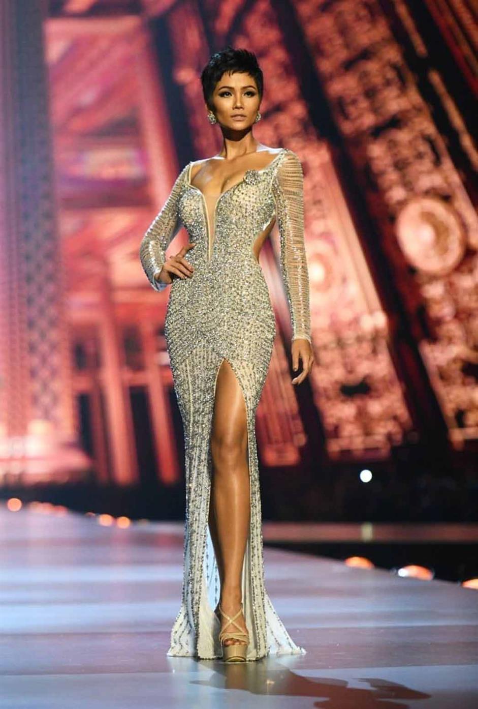 H'Hen Niê represented Vietnam at Miss Universe 2018