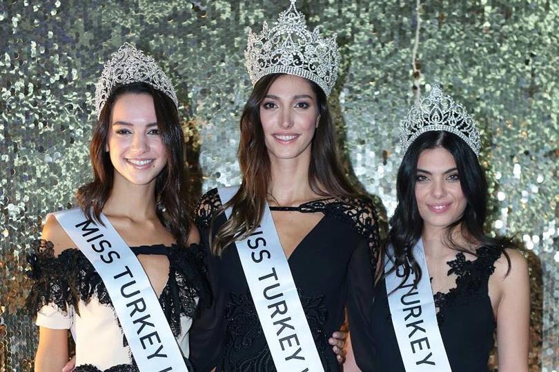 Sevval Sahin crowned Miss Turkey 2018