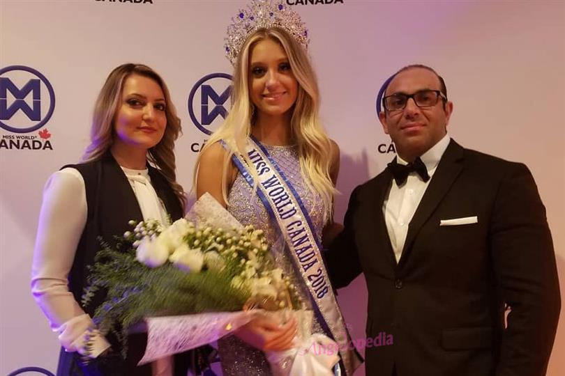 Hanna Begovic crowned Miss World Canada 2018