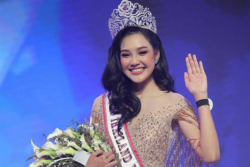 Narinthorn Chadaphatworachote crowned Miss World Thailand 2019
