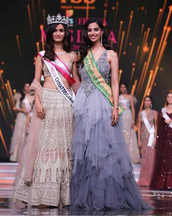 Shivani Jadhav crowned Miss Grand India 2019