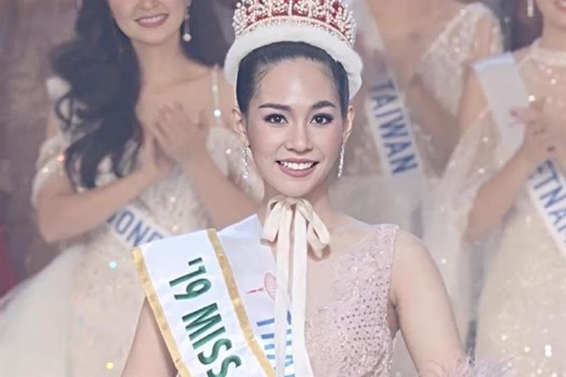 Sireethorn Leearamwat of Thailand crowned Miss International 2019