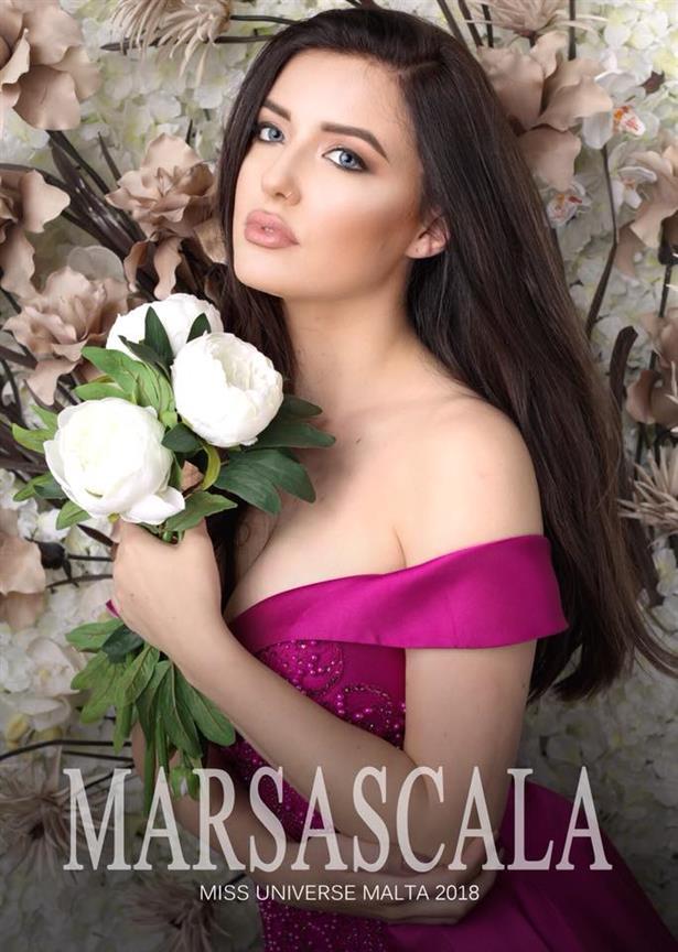 Miss Universe Malta 2018 finalist Ellie Davies