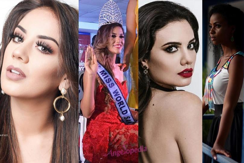Miss World Ecuador 2018 contestants are being unveiled