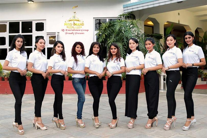 Miss Grand Nepal 2018 Meet the Contestants