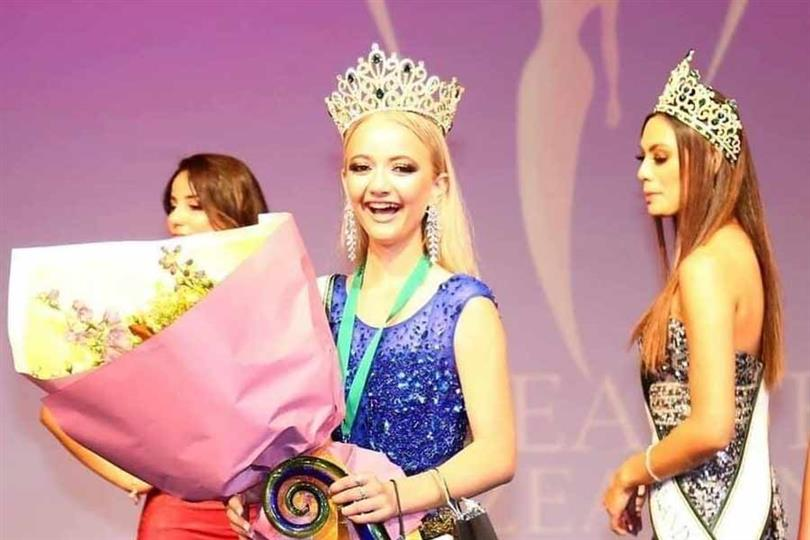 Charlise Hammond from Hamilton crowned Miss Earth New Zealand 2020