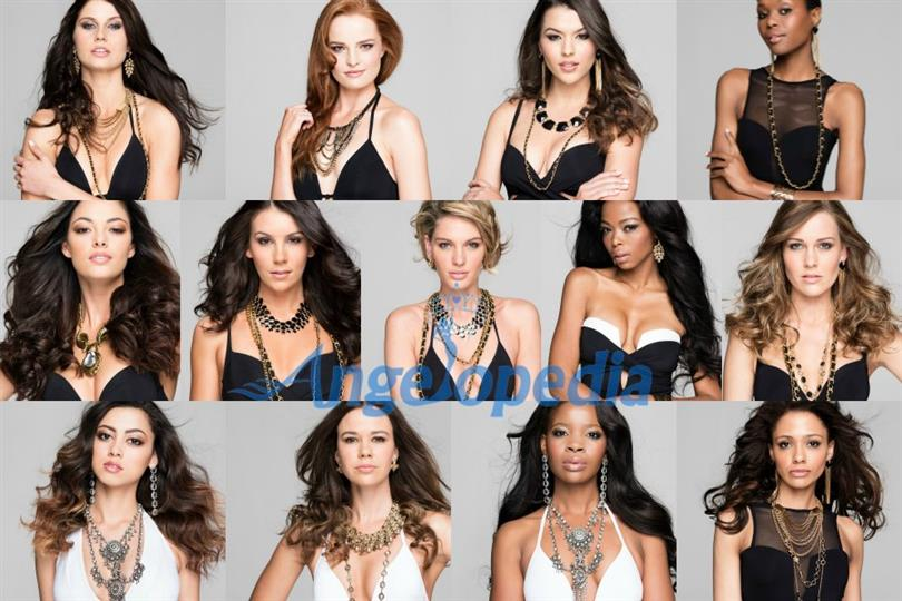Miss South Africa 2017 – Meet the Semi Finalists