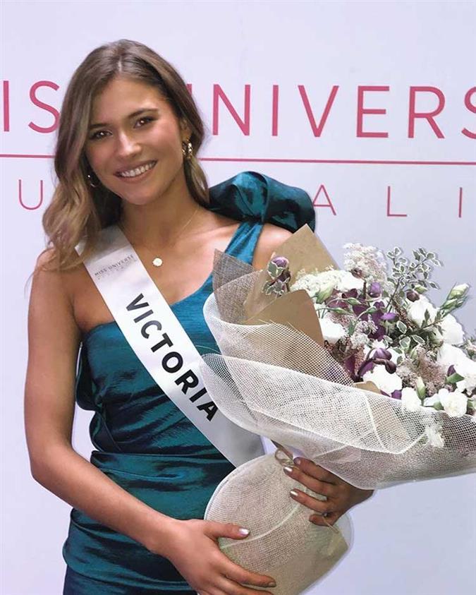 Daria Varlamova Finalist Miss Universe Australia 2020