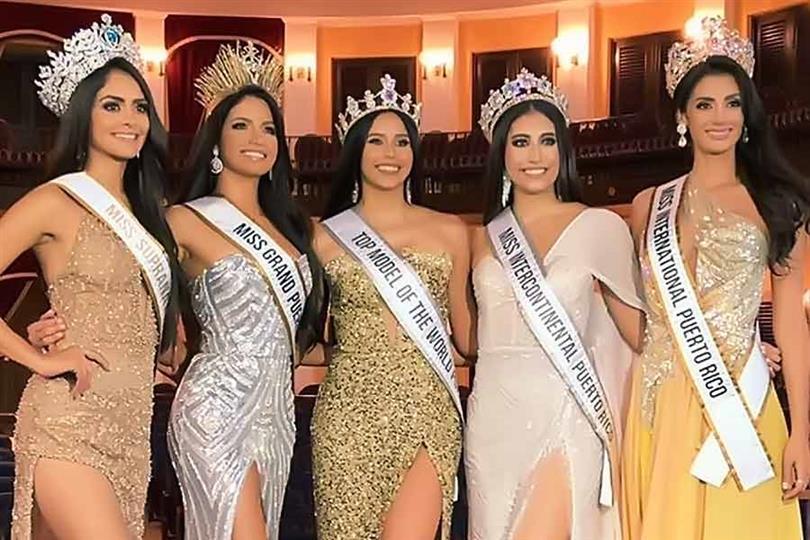 Daileen Vega crowned Miss Intercontinental Puerto Rico 2019