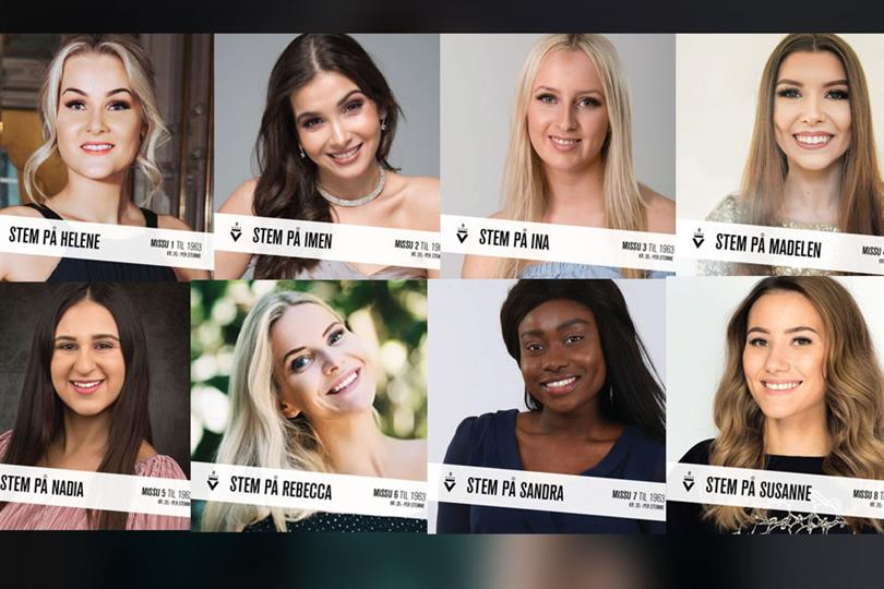 Miss Norway 2018 Meet The Finalists