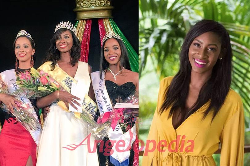 Ashlie Barrett crowned as Miss World Jamaica 2016