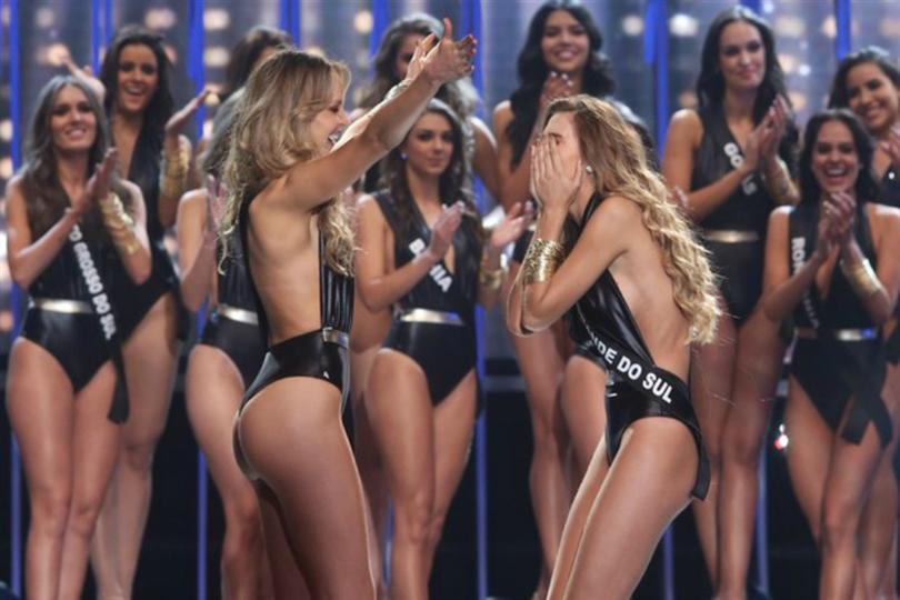Concurso de bikini de mama grande