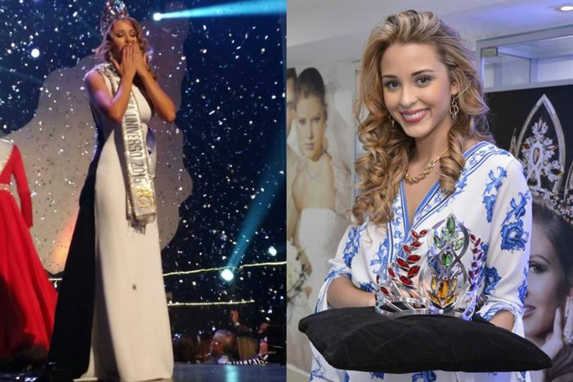 Antonella Moscatelli crowned as Miss Bolivia Universo 2016