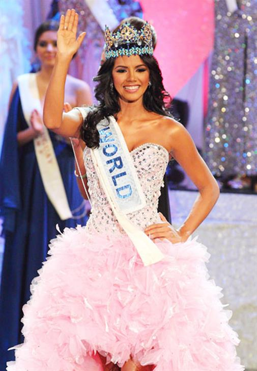 Ivian Sarcos from Venezuela was crowned Miss World 2011
