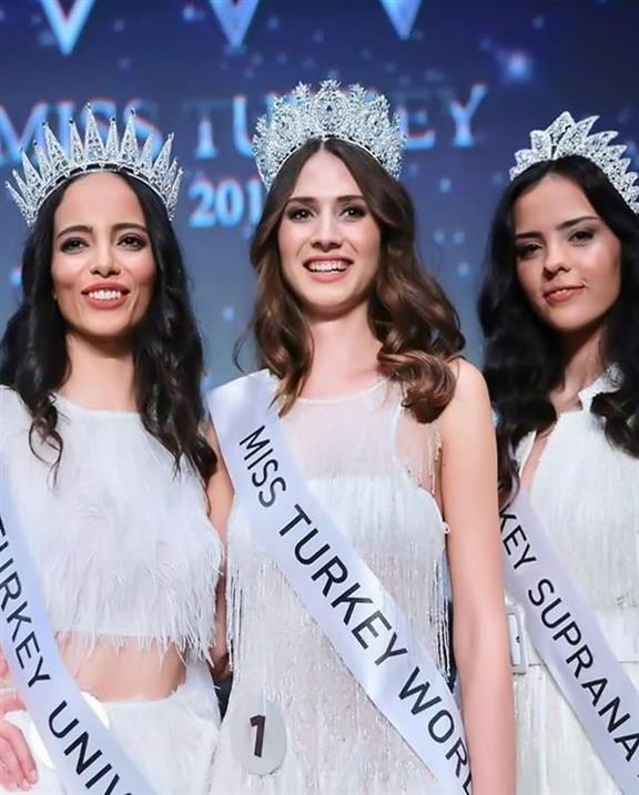 Simay Rasimoglu crowned Miss World Turkey 2019