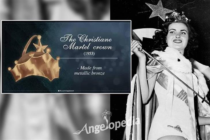 The Christiane Martel Crown/ Metallic Bronze Crown (1953-1954)