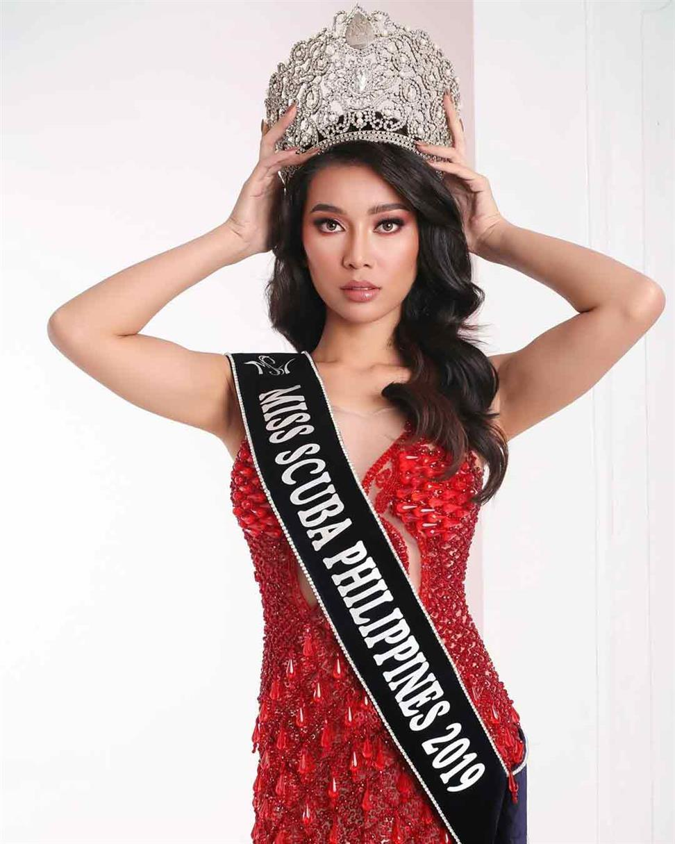 Filipina Flordeliz Mabao's exemplary performance at Miss Scuba International 2019