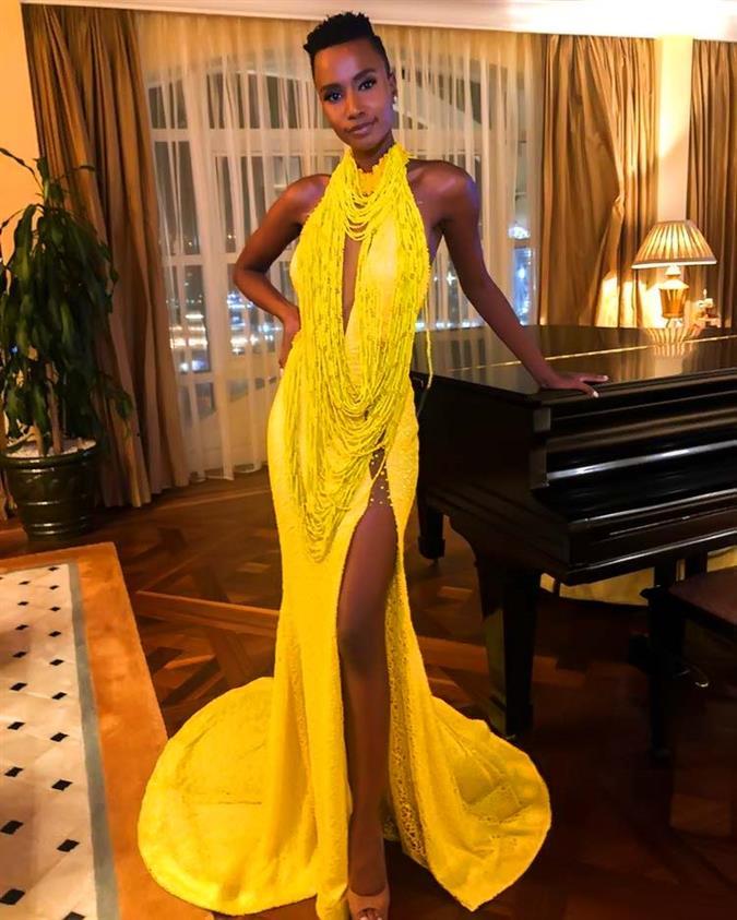 Miss South Africa 2019 Zozibini Tunzi