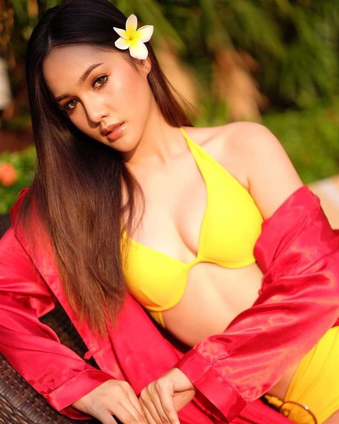 Kamolchanok Dhilokratchatasakul Miss Global Thailand 2018, our favourite for Miss Global 2018