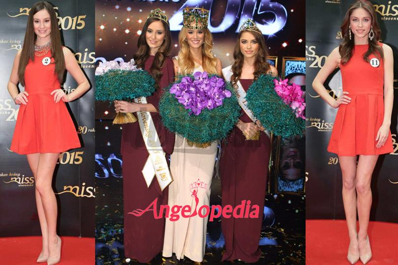 Miss Slovensko 2015 Winners