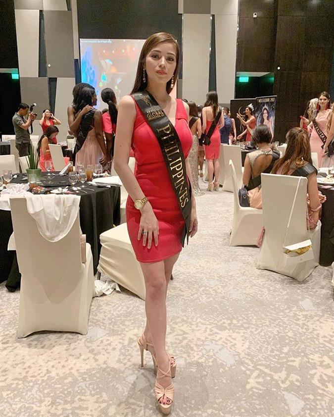 Miss Global 2018 delegates attend the welcome gala and sashing ceremony