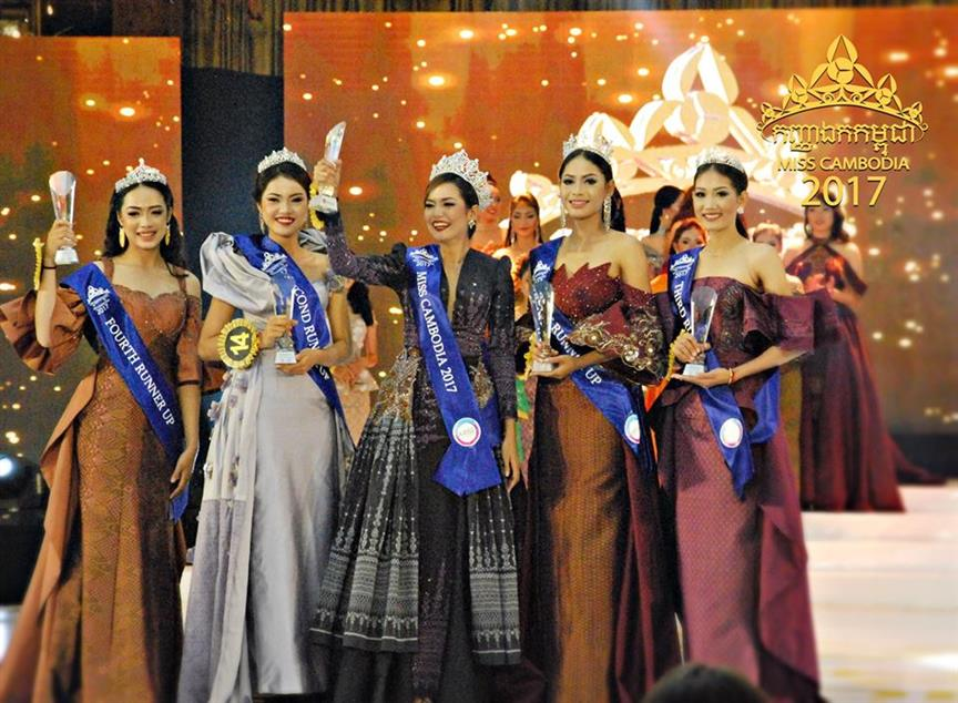 Rern Nat crowned as Miss Cambodia 2017, will compete in Miss Universe 2018