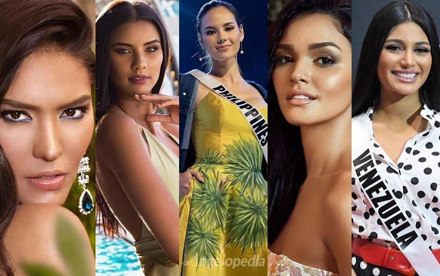 Miss Universe 2018 Top 10 Hot Picks by Angelopedia
