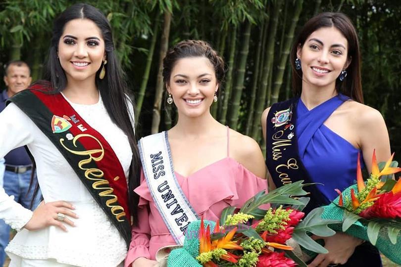 Miss Universe 2017 Demi-Leigh visits Ecuador for Social Cause