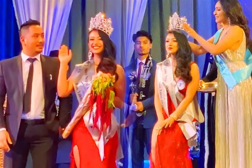 Jemina Shrestha Finalist Miss Nepal 2020