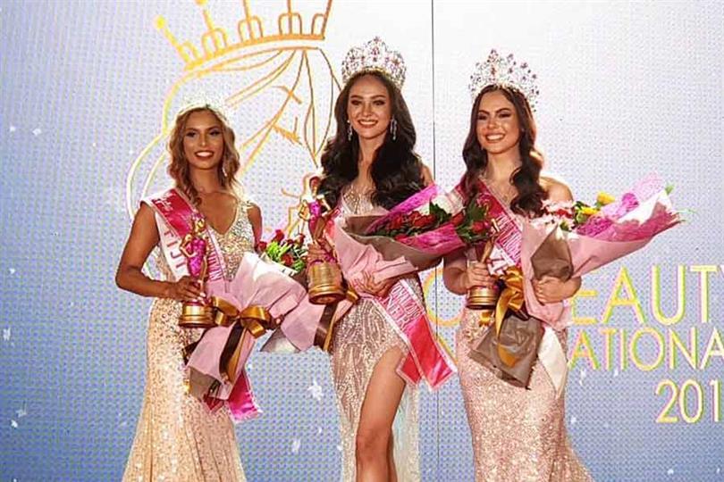 Peerachada Khunrak of Thailand crowned Face of Beauty International 2019
