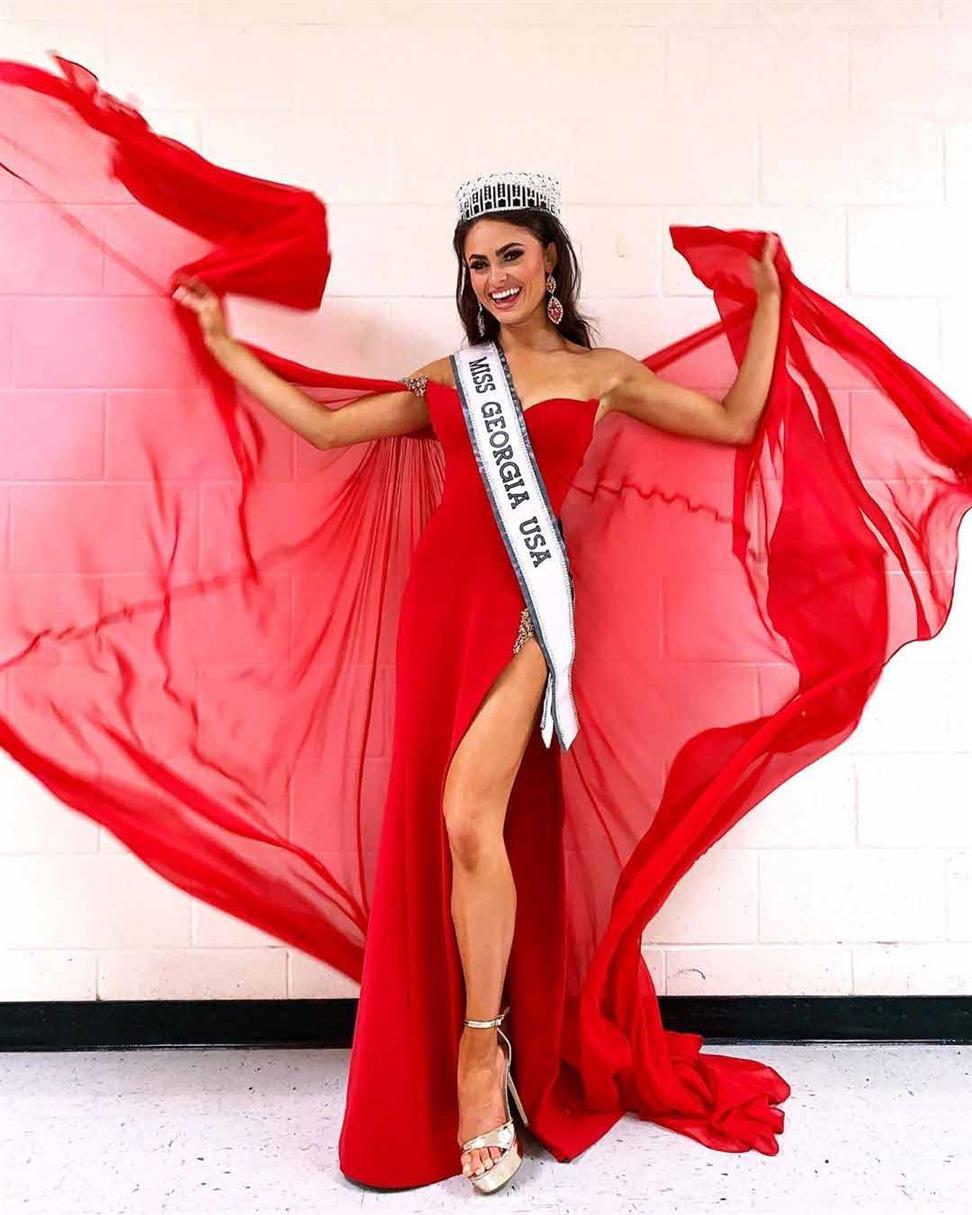 Alyssa Beasley crowned Miss Georgia USA 2020 for Miss USA 2020