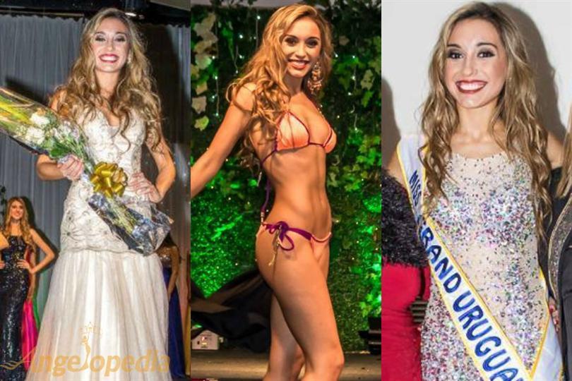 Melina Carballo will represent Uruguay at Miss Grand International 2016