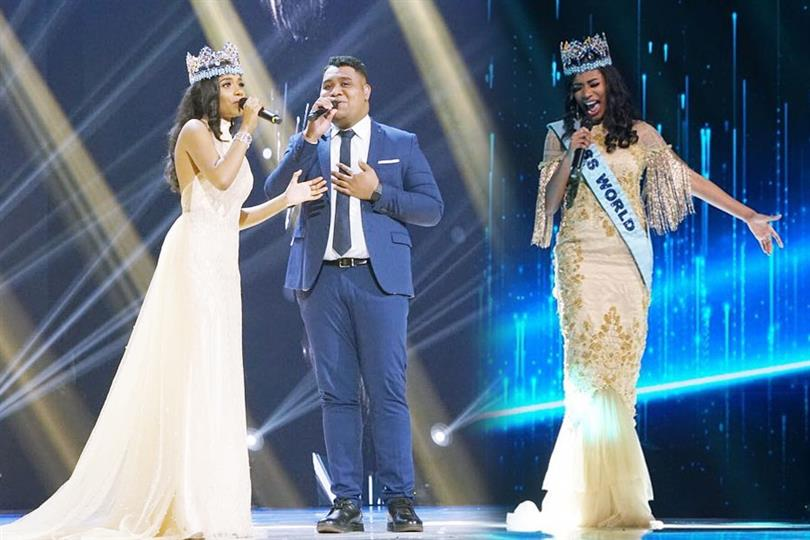 Miss World 2019 Toni-Ann Singh's graceful performance at Miss Indonesia 2020 coronation night