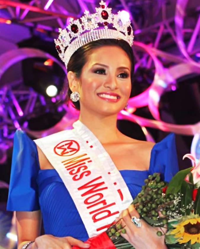Queneerich Rehman Miss World Philippines 2012 Winner
