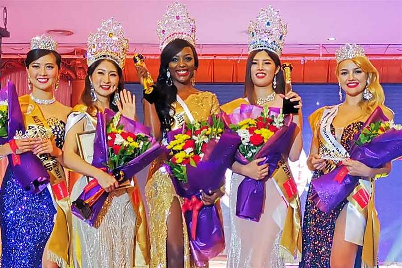 Mariana Pietersz of Curacao crowned Miss Tourism Worldwide 2019