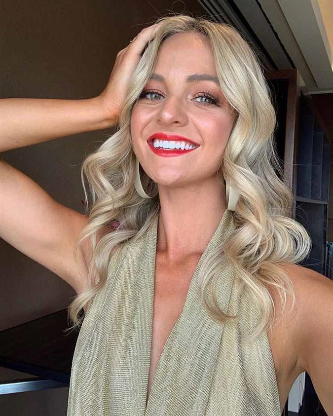 Brooke Mcauley Finalist Miss Universe Australia 2020