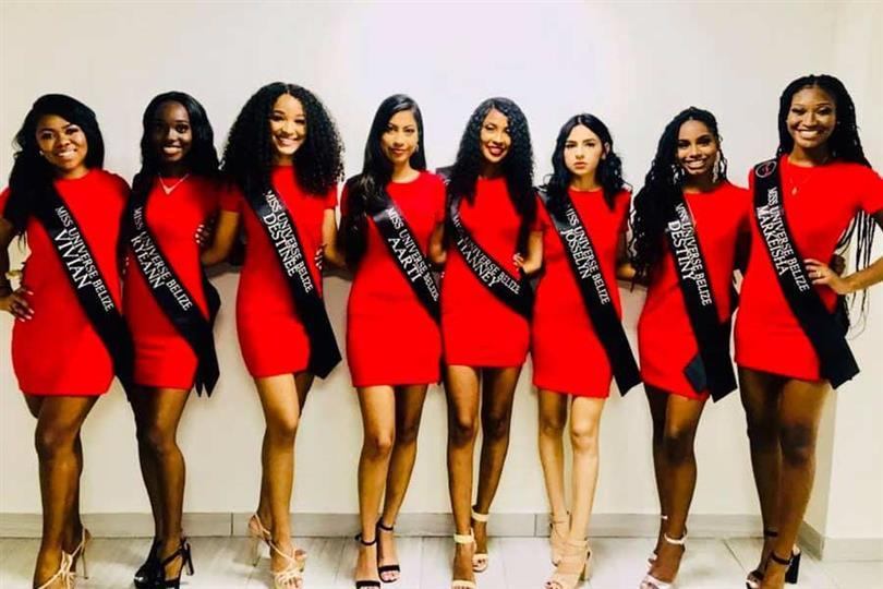 Miss Universe Belize 2019 Meet the Contestants
