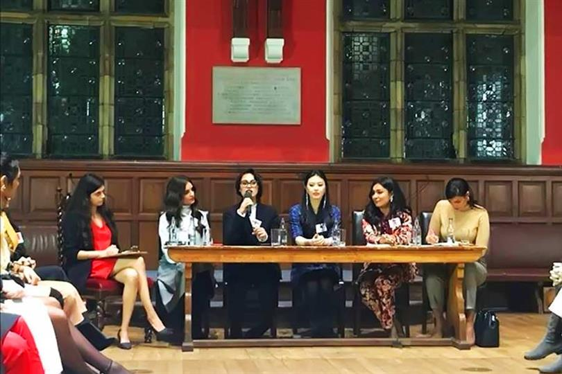 Miss World 2019 delegates get the opportunity to speak at Oxford debate in Oxford University