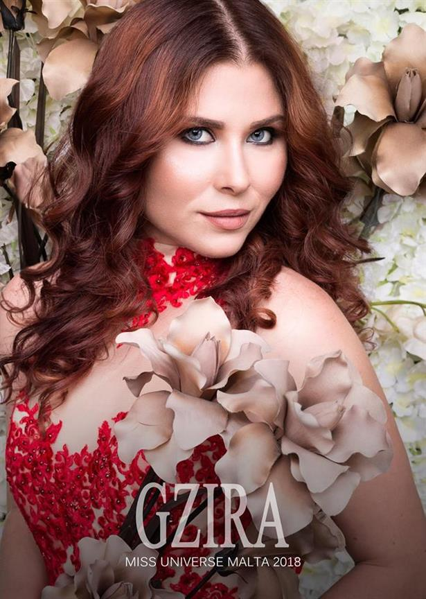 Miss Universe Malta 2018 finalist Veronika Selimovic