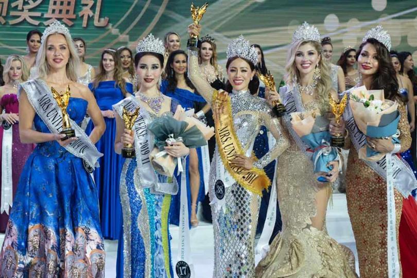 Honey Cho Mrs Universe 2019