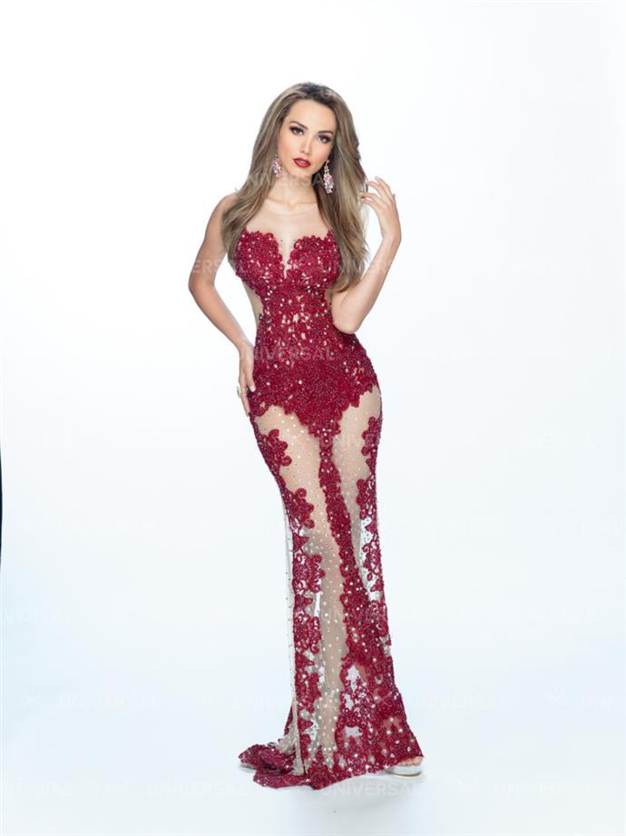 Mexicana Universal 2018 Top 5 Evening Gowns Photoshoot by Angelopedia