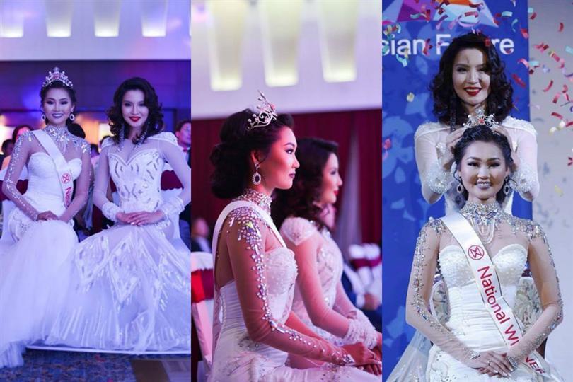 Bayartsetseg Altangerel crowned as Miss World Mongolia 2016